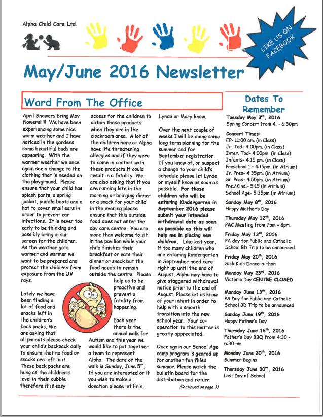 teacher newsletters templates